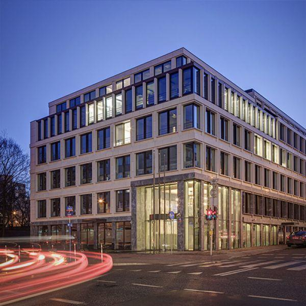 """Carpathia Office House"" Office Building in Warsaw"