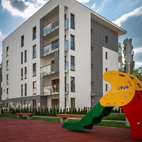 """""""Hevelia"""" Residential Estate in Poznań"""