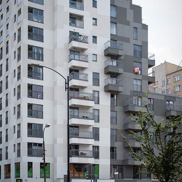 """Słodowiec Park"" Residential Estate in Warsaw"