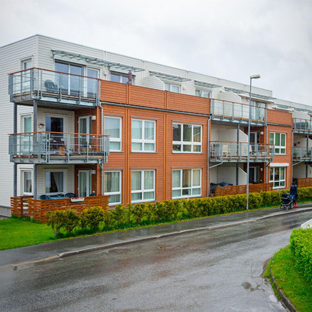 """Rosenlund"" Residential Estate in Stjordal, Norway"