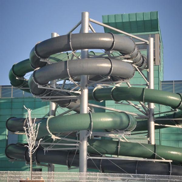 Аквапарк с плавательным бассейном в Сувалках