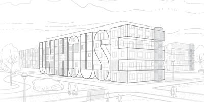 Unihouse in the final of a contest