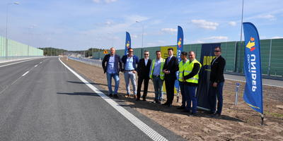 The next section of S8 expressway is open