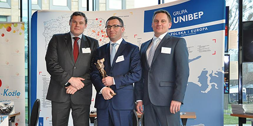 UNIBEP presented with the Polish Sports Constructor award