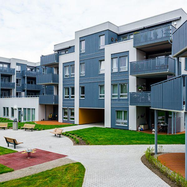 """Kirkeringen"" Residential Estate in Trondheim, Norway"