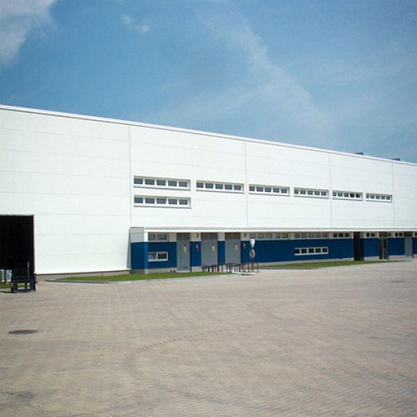 Производственно-складской павильон с помещением для дозревания сыров