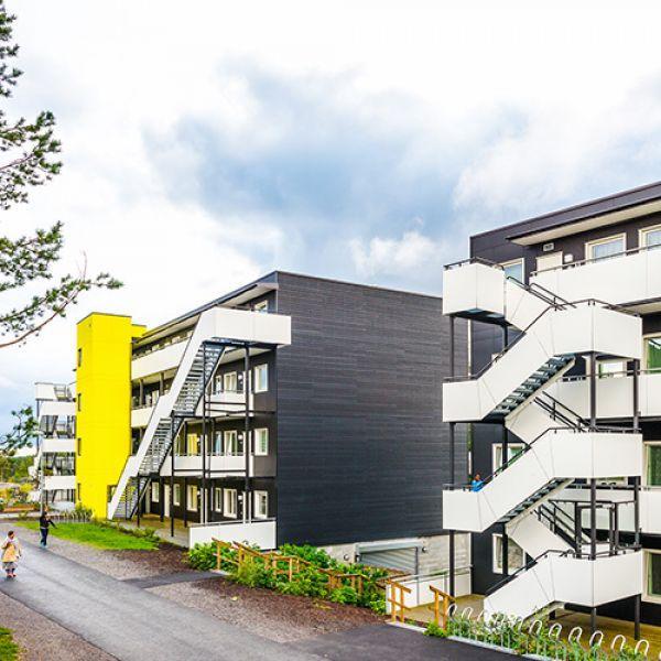 """Микрорайон """" BjørnåsenSyd"""" в Осло, Норвегия"""