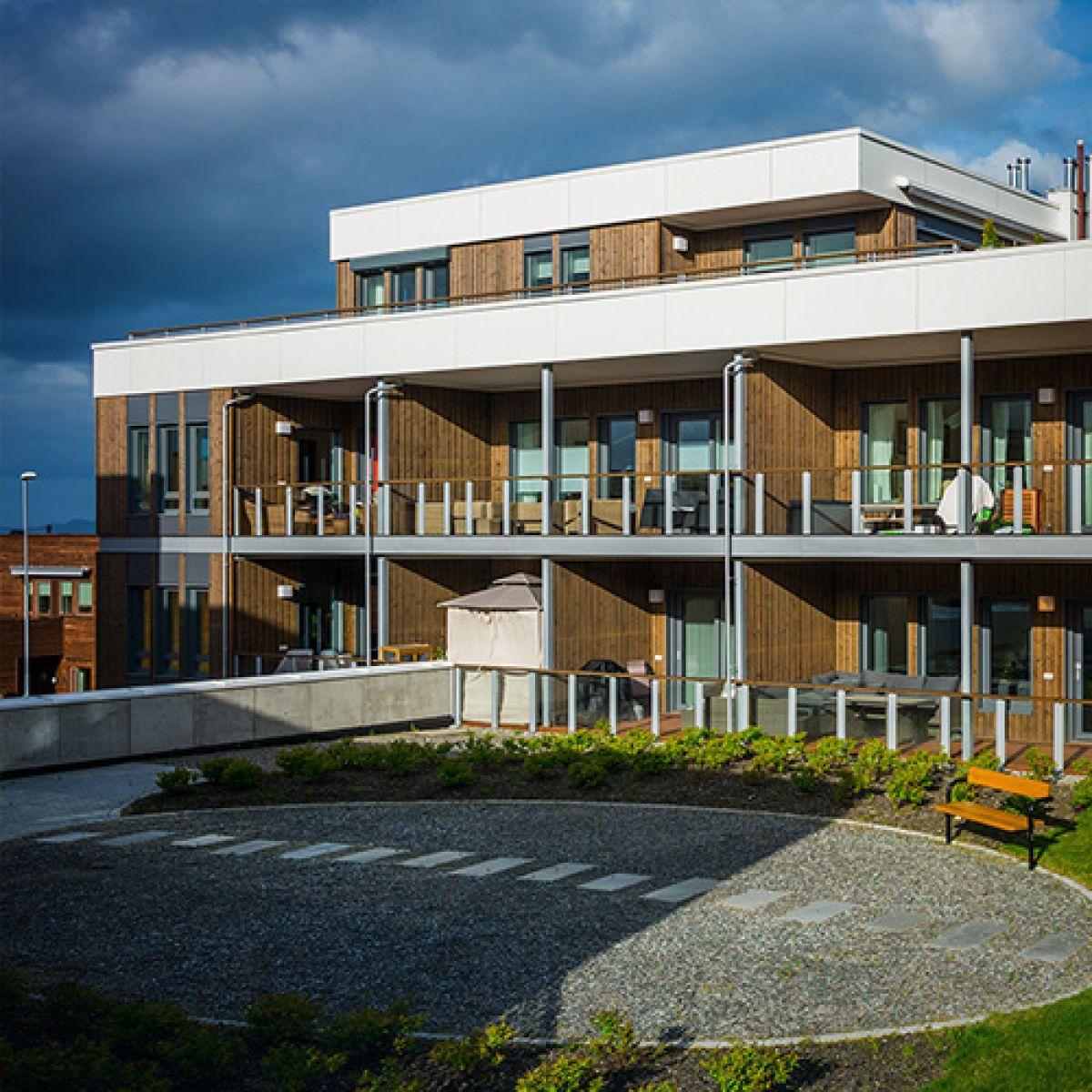 """Жилой комплекс """"Grilstad Park B3"""" в Тронхейме, Норвегия"""