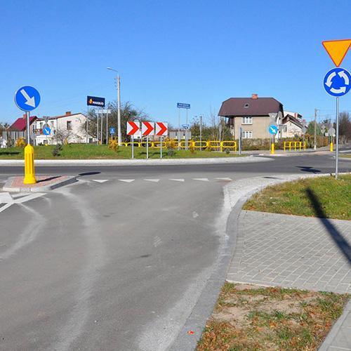 Строительство воеводской дороги номер 685 на отрезке Хайнувка - Елёнка