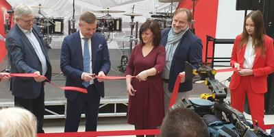 The shopping centre in Grodno officially opened